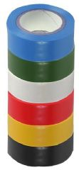 PRO POWER SH5005-6MPK  Insulation Tape 19Mm X 8M Pk Of 6 Mixed